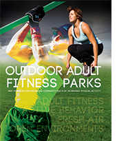 Outdoor adult fitness parks cover